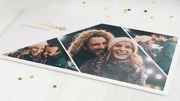 Weihnachtskarten - Winterglanz