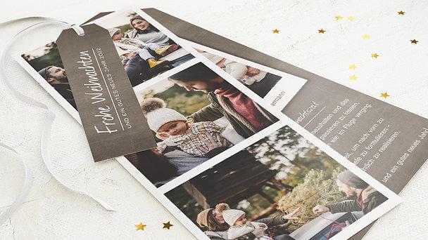 Weihnachtskarten - Familienfotos