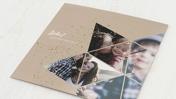 Weihnachtskarten - Zimt und Sterne