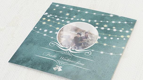 Weihnachtskarten - Festliche Lichter