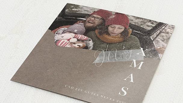Weihnachtskarten - Winterwunderland
