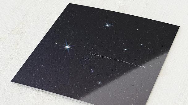 Weihnachtskarten - Himmelssterne