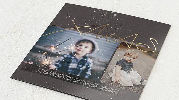Weihnachtskarten - Milky Way