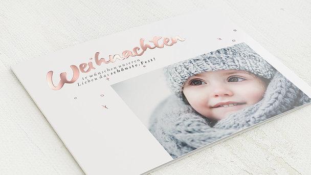 Weihnachtskarten - Weihnachtsglück