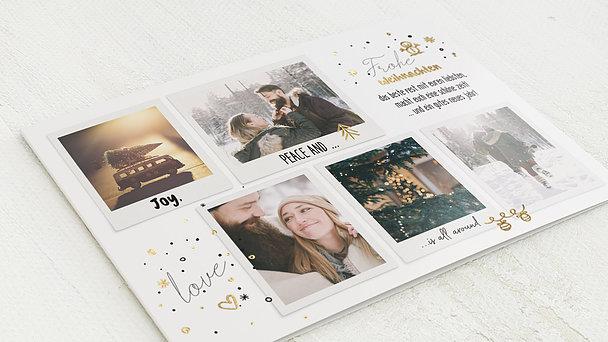 Weihnachtskarten - Joy all around
