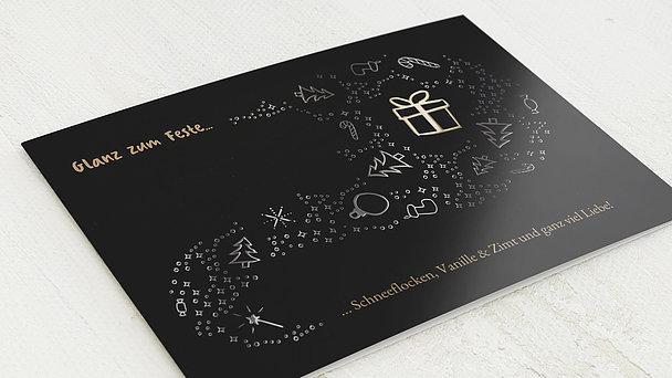 Weihnachtskarten - Glanz zum Feste