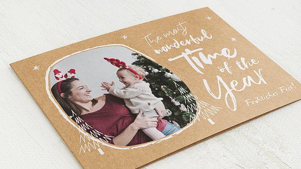 Weihnachtskarten - A Wonderful Time