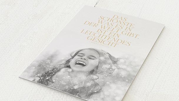 Weihnachtskarten - Eislandschaft