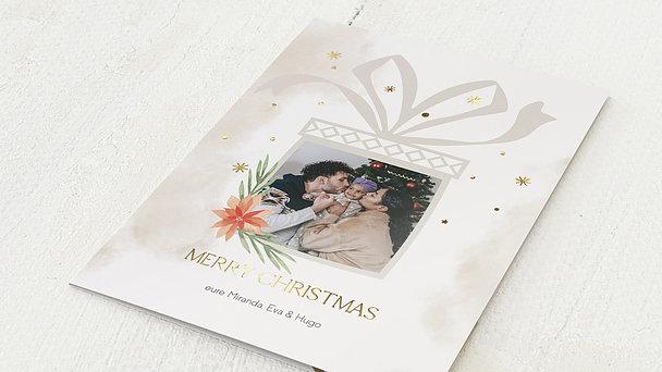Weihnachtskarten - Kleine Gabe