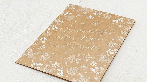 Weihnachtskarten - Weihnachtsfreuden