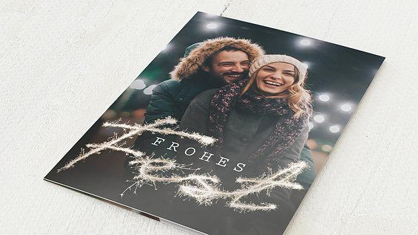 Weihnachtskarten - Freudenfunken