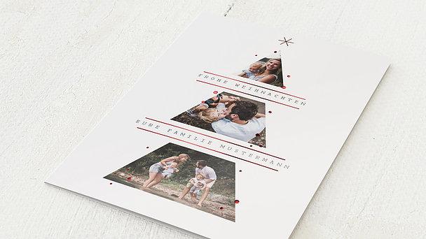 Weihnachtskarten - Tannenbaumspitze