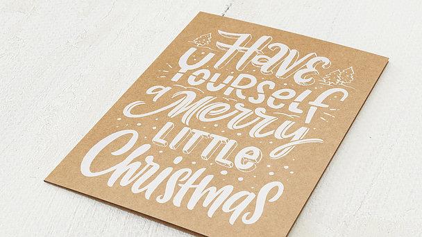 Weihnachtskarten - Little Christmas