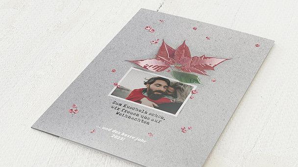 Weihnachtskarten - Adventsstern