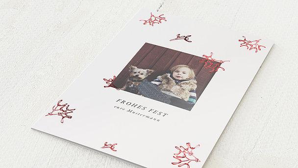 Weihnachtskarten - Unter dem Mistelzweig
