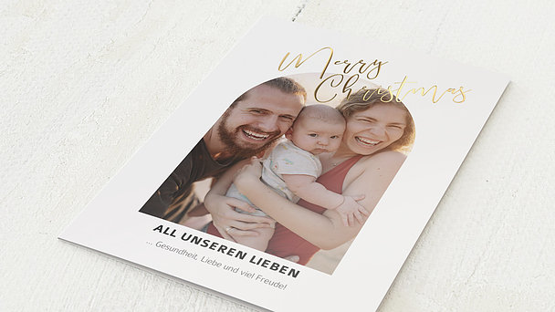 Weihnachtskarten - Lovely Christmas