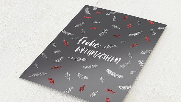 Weihnachtskarten - Frohe Zweiglein