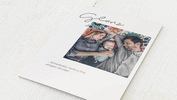 Weihnachtskarten - Glanzvoller Auftritt