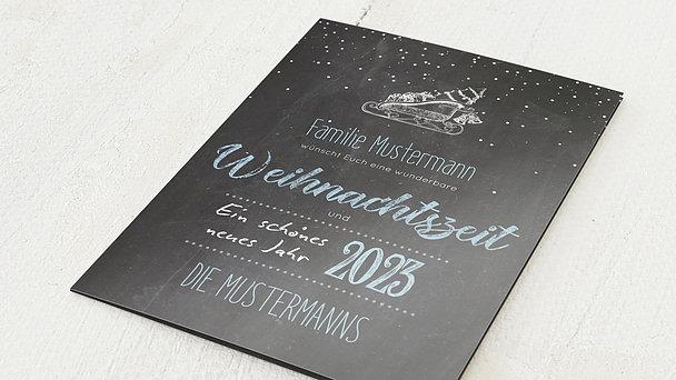 Weihnachtskarten - Ankündigung
