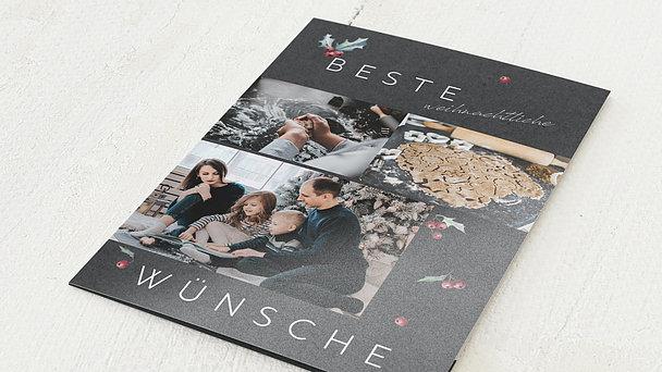 Weihnachtskarten - Weihnachtsbäckerei
