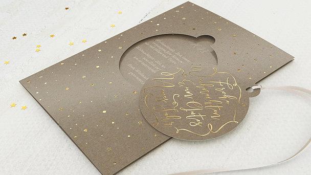 Weihnachtskarten - Christmas joy