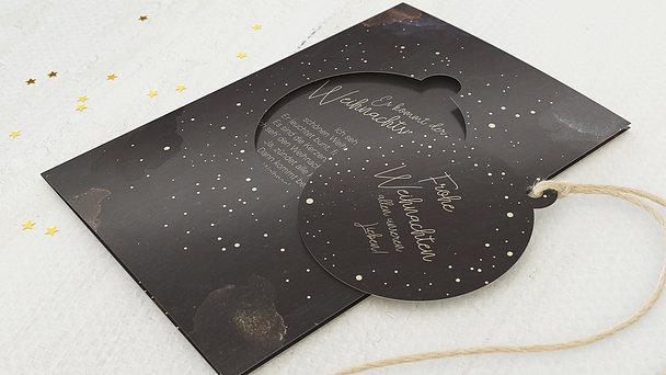 Weihnachtskarten - Kosmische Weihnacht