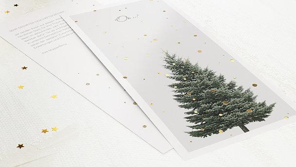 Weihnachtskarten Geschäftlich - Goldfunkel