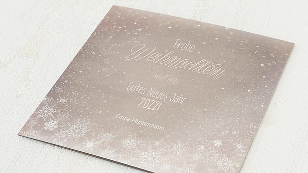 Weihnachtskarten Geschäftlich - Zaubernacht