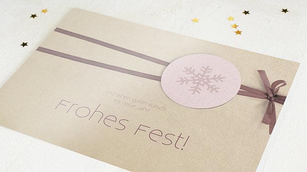 Weihnachtskarten Geschäftlich - Vorankündigung