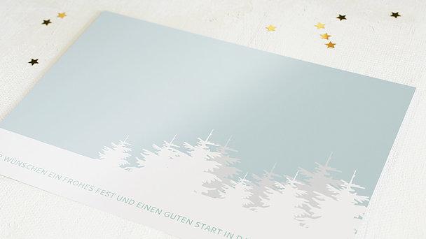 Weihnachtskarten Geschäftlich - Weihnachtswald