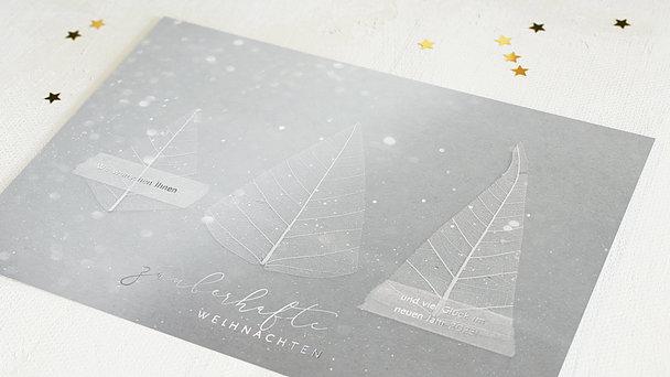 Weihnachtskarten Geschäftlich - Zauberbäumchen
