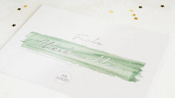 Weihnachtskarten Mit Fingerabdruck.Geschäftliche Weihnachtskarten Und Weihnachtsgrüße Für Firmen