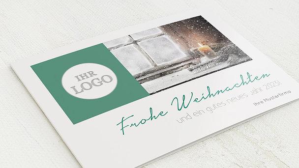weihnachtskarten gesch ftlich winterliche zeit detail. Black Bedroom Furniture Sets. Home Design Ideas
