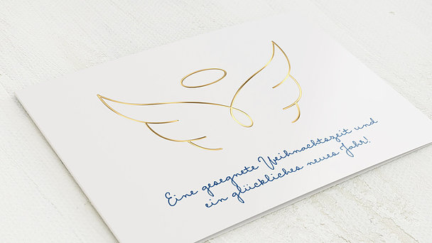 Weihnachtskarten Geschäftlich - Engel