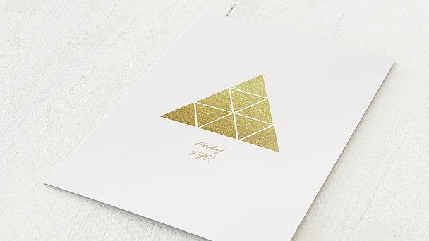 Weihnachtskarten Geschäftlich - Pyramiden