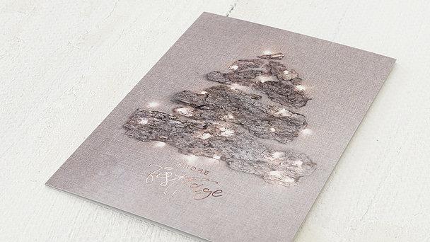Weihnachtskarten Geschäftlich - Lichterschein