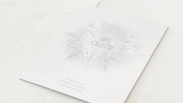 Weihnachtskarten Geschäftlich - Weiße Weihnachten