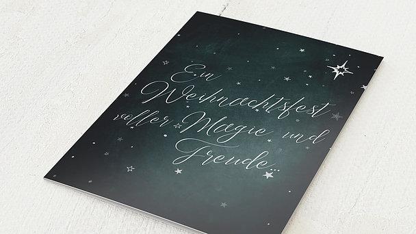 Weihnachtskarten Geschäftlich - Zauberklang