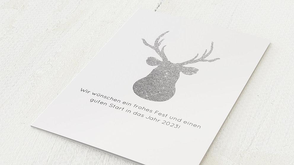 weihnachtskarten gesch ftlich wilde weihnacht detail. Black Bedroom Furniture Sets. Home Design Ideas