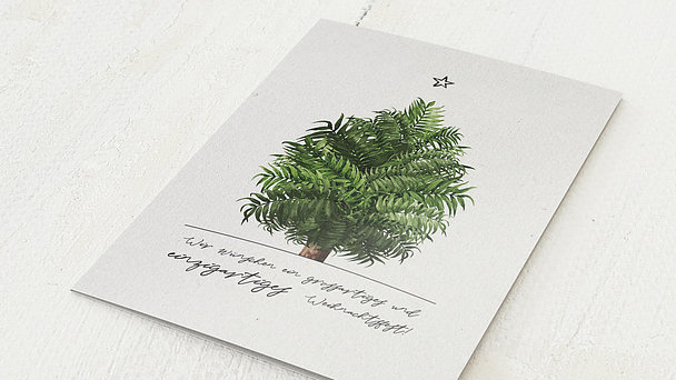 Weihnachtskarten Geschäftlich - Palmeria