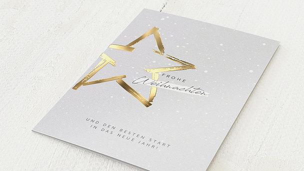 Weihnachtskarten Geschäftlich - Mein kleiner Stern