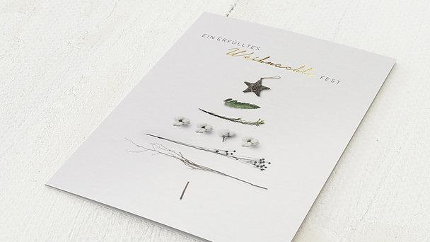 Weihnachtskarten Geschäftlich - Erfülltes Weihnachtsfest