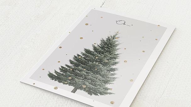 Weihnachtskarten - Goldfunkel