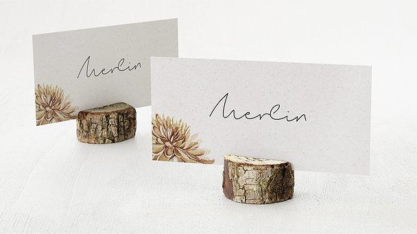 Tischkarten Hochzeit - Floral passion