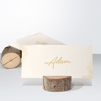 Tischkarten Hochzeit - Anmut