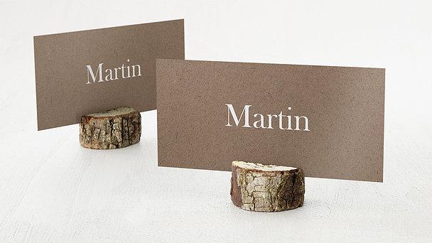Tischkarten Hochzeit - Freudenfunkeln