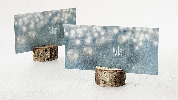 Tischkarten Hochzeit - Luminaria