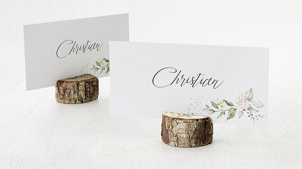 Tischkarten Hochzeit - Herzliche Eleganz