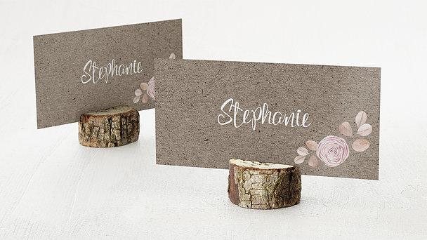 Tischkarten Hochzeit - Wunderknospen