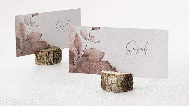 Tischkarten Hochzeit - Elfenblätter